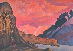 Maitreya by Nicholas Roerich, 1925/6