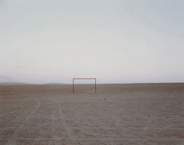 Goal Post, Chile, by Nadav Kander