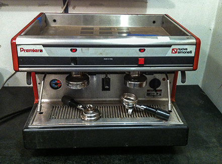 Broken espresso