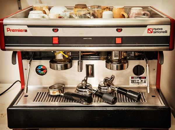 Espresso machine rebuilt