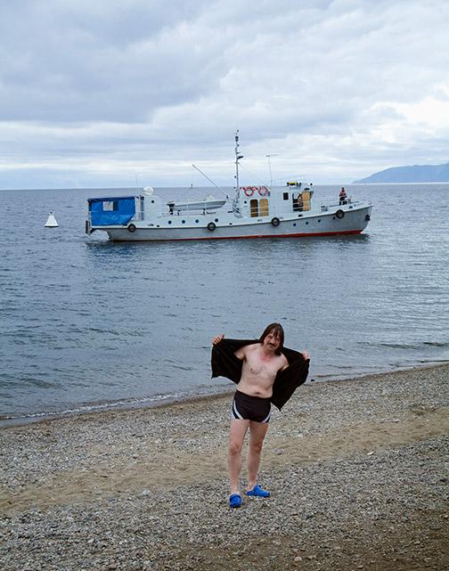 Swimmer, Lake Baikal